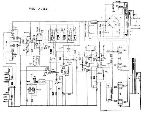 Prowess Amplifiers Vox Schematics Vox Ac120