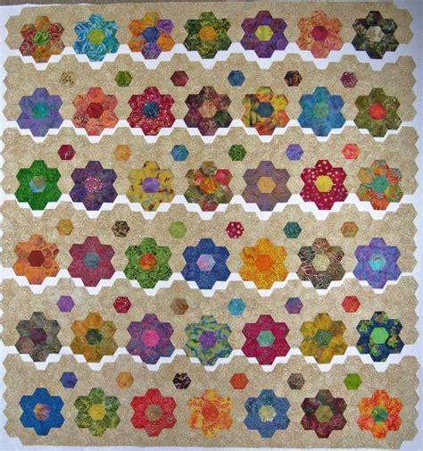 Hexagon Patchwork - hexagon patchwork patterns www imgkid the image