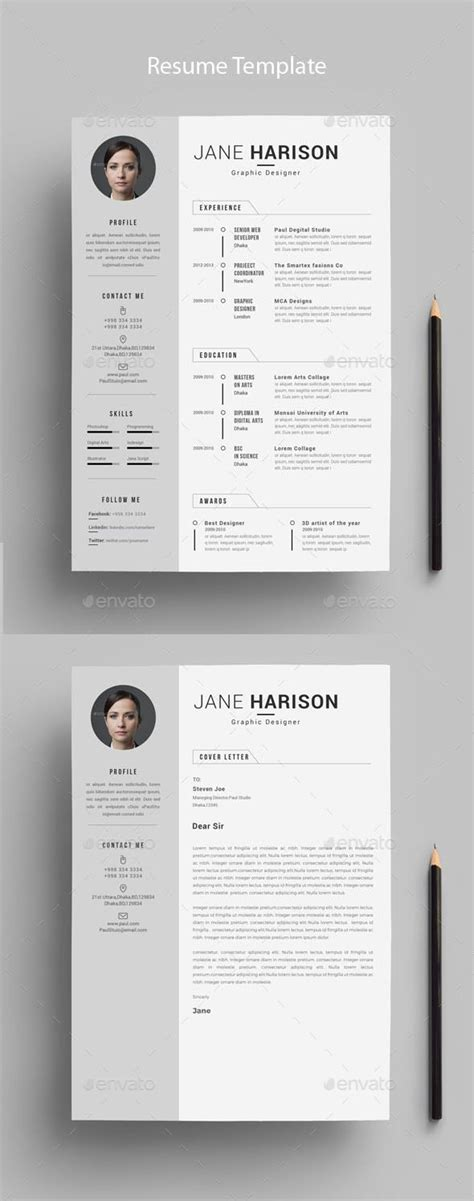 Memo Template Graphicriver resume resumes stationery here https