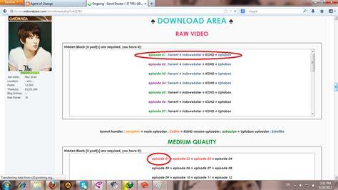 Link Untuk Mendownload Film Drama Korea   speak up cara mendownload drama korea di forum indowebster