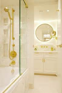 Brass Shower Doors Drop In Bathtub With Sliding Glass Shower Doors On Brass