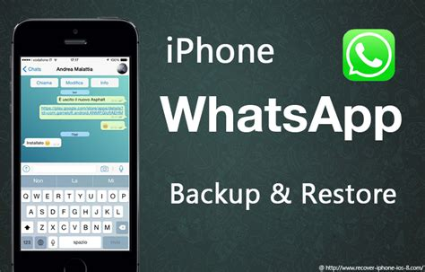 how to backup restore whatsapp on iphone se 6s 6s plus iphone 7 7 plus