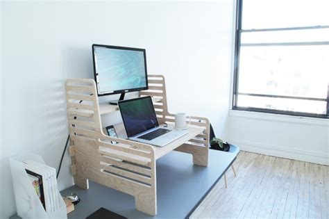 Upstanding Desk by Upstanding Desk Offers Affordable Way To Work On Your