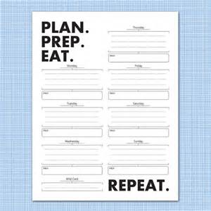 weekly meal planner download plan prep eat by microdesign