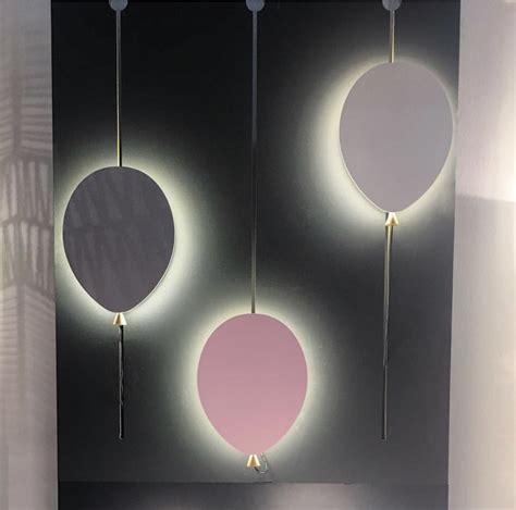 Living Room Vase Decoration Globen Lighting Wall Balloon Grey Ash Led Interior