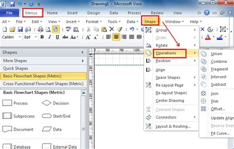 visio documents visio insert symbol
