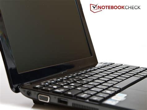 Keyboard Netbook Asus Eee Pc 1015px review asus eee pc 1015px netbook notebookcheck net reviews