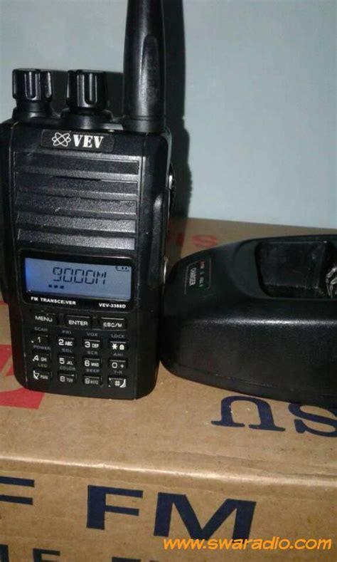 Ht Vev 3388 D Singleband dijual ht vev 3388d uhf 350mhz rx tx normal mayan