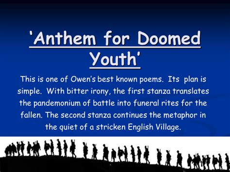 anthem for doomed youth b00r73o8z6 anthem for doomed youth war poetry powerpoint by hijabi sister teaching resources tes