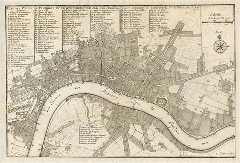 layout planning jobs london stock images high resolution antique uk city plans