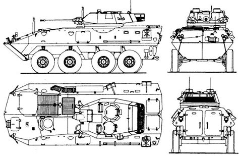Vehicle Identifier Section by Lav 25 8x8 Light Armoured Vehicle Technical Data Sheet