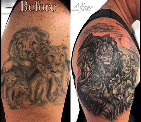 bali tattoo cover up lions and tigers and bears tattlas bali tattoo guide