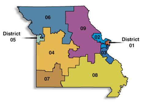 missouri district map akin s rocky start st louis nonpartisan examiner