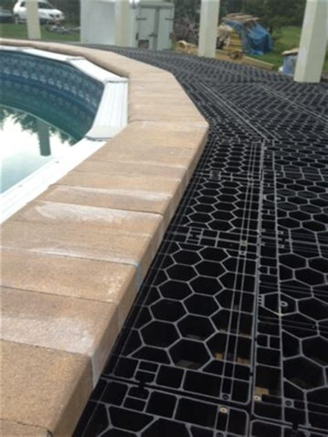 Patio Pavers Underlayment Silca System American Made Deck Patio Construction