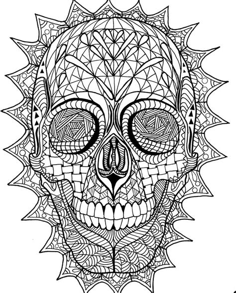 skull coloring pages for adults 248 best sugar skulls day of the dead coloring pages for
