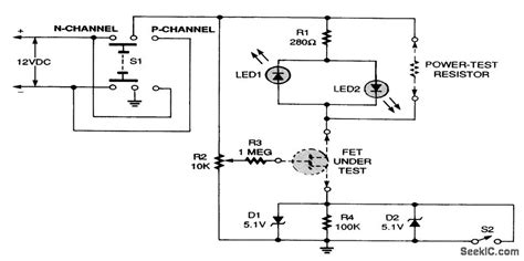 transistor mosfet testear fet transistor tester schematics 28 images in or out of circuit transistor fet equipment