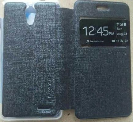 Flip Andromax Es jual leather jual flip cover flipcover leather