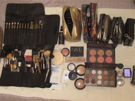 Makeup Kit Mac inside my makeup kit bridal makeup by meli