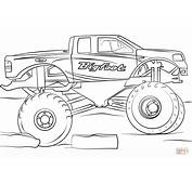 Get This Bigfoot Monster Truck Coloring Page  73610
