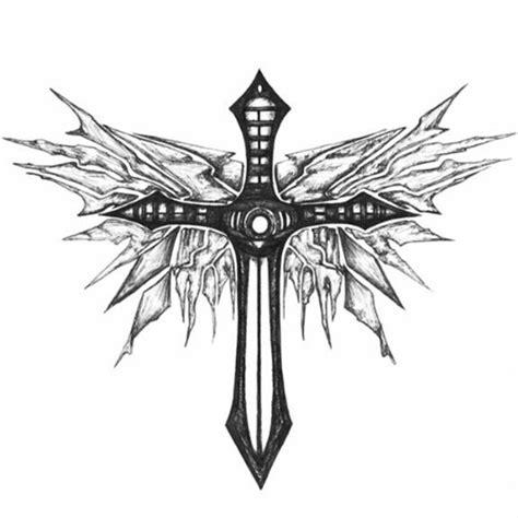 tattoo cross templates 15 best cross tattoo design images on pinterest tribal