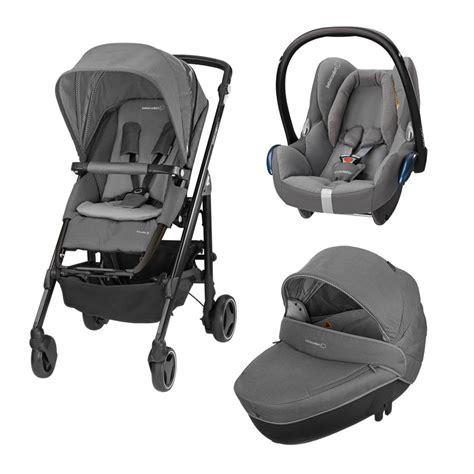 bebe confort trio loola 3 colore concrete grey telaio