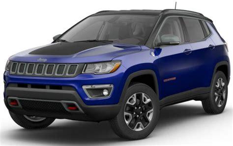 jeep trailhawk blue 2017 jeep compass trailhawk color options