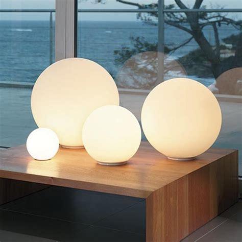 round globe table l new modern globe ball round glass floor table desk