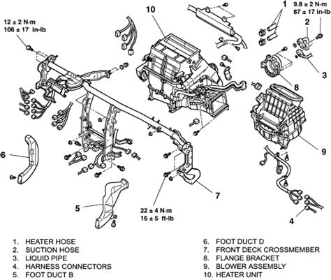 Joint Steer Plus Shaft Intermed Assy Kia Carnival repair guides heater removal installation 1 autozone