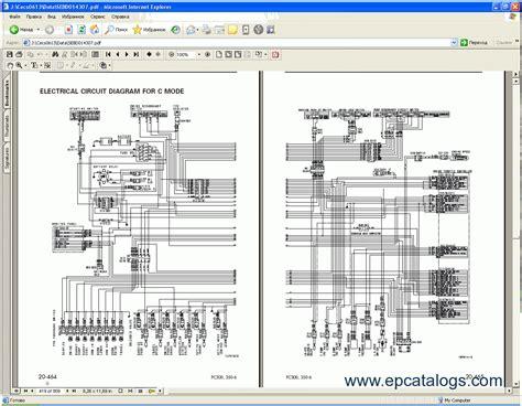 electrical wiring excavator komatsu wiring schematics