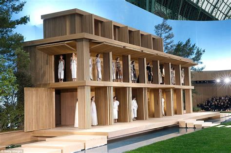 eco dolls house chanel creates eco friendly minimalist life size doll house with a zen garden