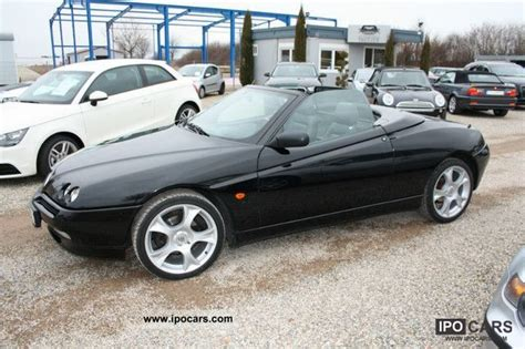 2002 alfa romeo spider hardtop car photo and specs