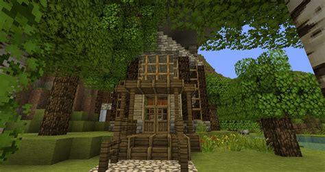 Minecraft Cabin House by Cabin Modern House Minecraft Project