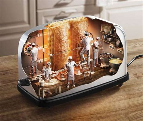 Inside Of A Toaster dissected appliance inside toaster by mladen panev