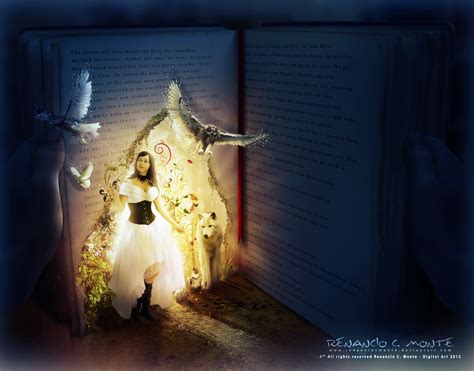 The Magic Book the magic book by renanciocmonte on deviantart