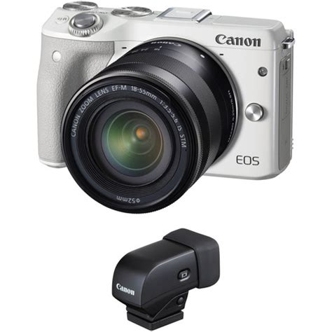mirrorless viewfinder canon eos m3 mirrorless digital with 18 55mm lens