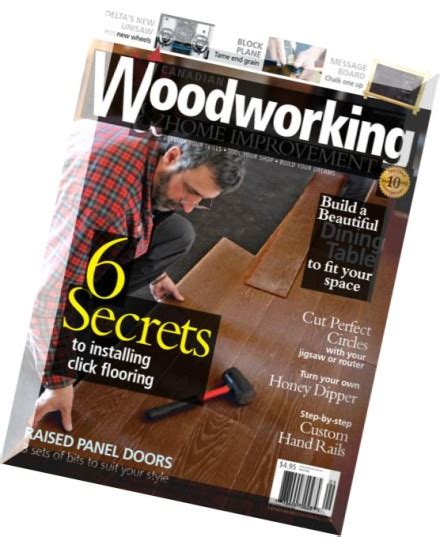 canadian woodworking issue   magazine