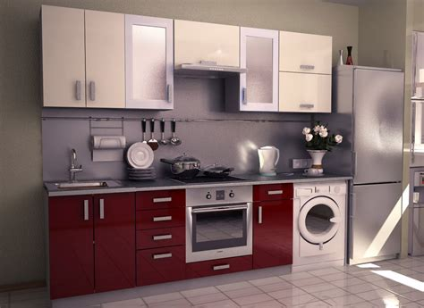 Modular Kitchen Design For Small Area by Aamoda Kitchen