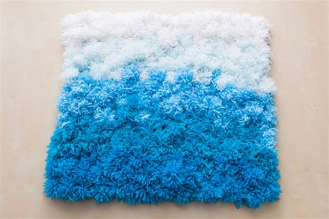 3 in 1 diy pom pom ideas rug wall hanging and table
