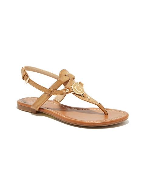 sandals guess guess s shayann t sandals ebay