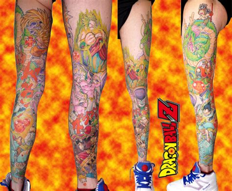 dragon ball tattoos groups the dao of dragon ball