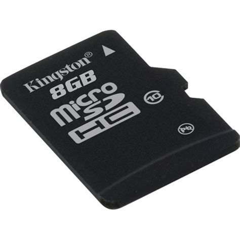 Mmc Memory Micro Sd Kingston 8 Gb kingston 8gb microsdhc memory card class 10 b h photo