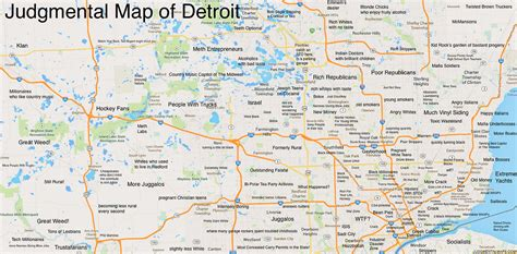 printable detroit area map about that judgmental map of detroit blogs