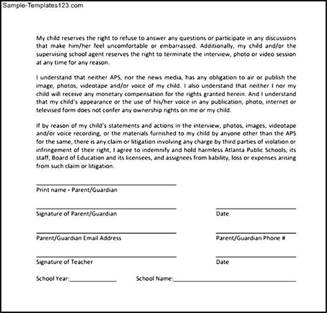 general release of information form template 30 images of generic release of information template