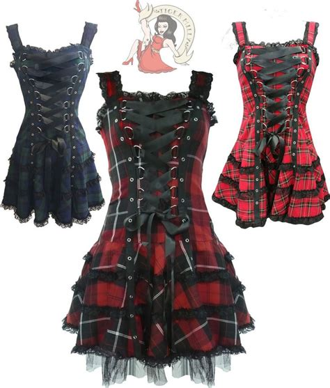 Torora Tartan Layer Mini Dress 280 best images about awesome clothes and