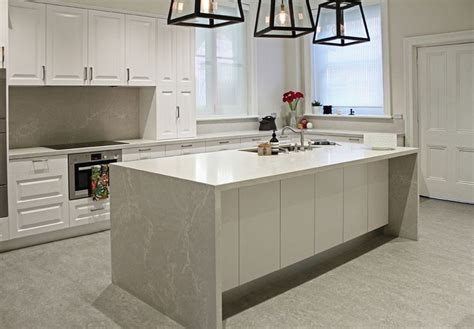 island bench tops kerry selby brown design featuring caesarstone alpine mist