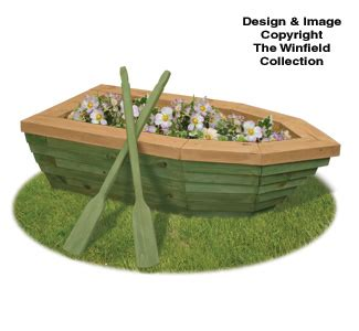 planter woodworking plans  rowboat planter wood plans