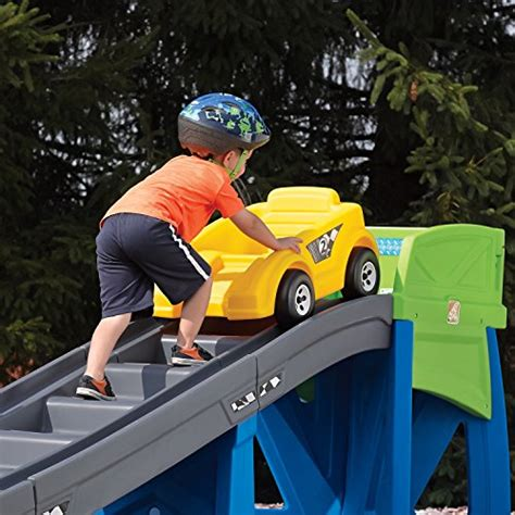 step 2 playground toys r us step2 outdoor toys playground coaster car ride on slide