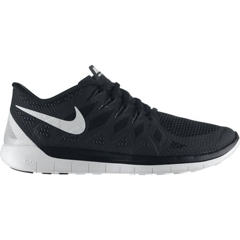 Nike Free Running 5 0 A nike mens free 5 0 running shoes black white
