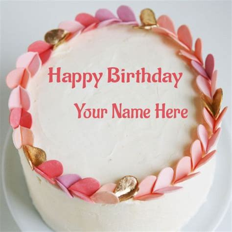 Happy Birthday Wishes With Name Write Your Name On Birthday Cake Wishes Pictures Wishes