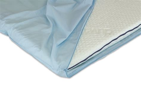 Sheets For Mattress Topper by Duvalay 5cm Percale Zipped Sheet For Portable Toppers 77cm